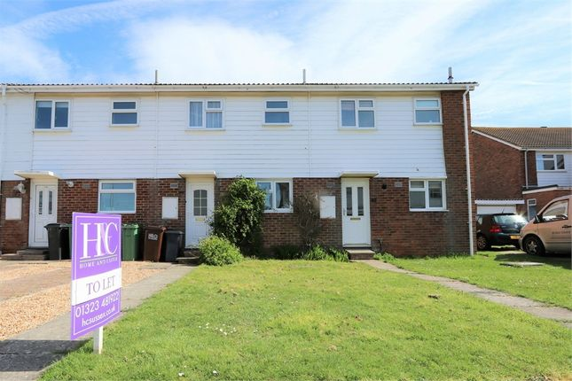 Thumbnail Terraced house to rent in Bridgemere Road, Eastbourne, East Sussex