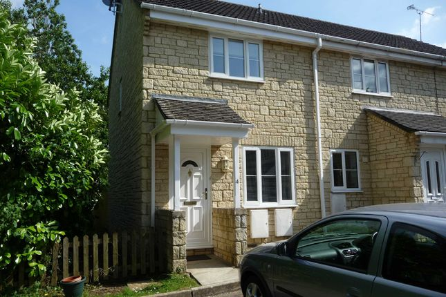 Thumbnail End terrace house to rent in Randall Court, Corsham
