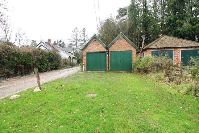 Garage of Mud Lane, Eversley, Hook, Hampshire RG27