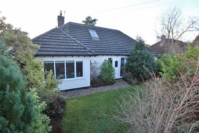 Thumbnail Detached bungalow for sale in Border Road, Heswall, Wirral