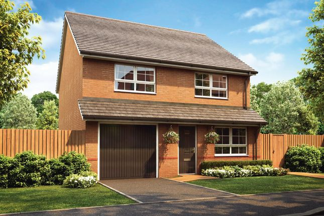 """Thumbnail Detached house for sale in """"Tewkesbury"""" at Stretton Road, Stretton, Warrington"""
