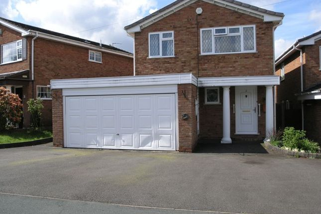 Thumbnail Detached house for sale in Ladypool Close, Halesowen