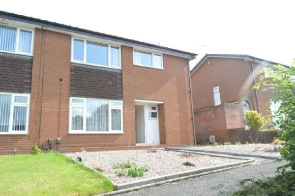 Thumbnail Town house to rent in Cross May Street, Keele, Newcastle-Under-Lyme, Newcastle-Under-Lyme