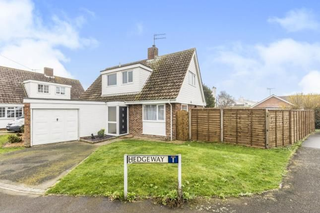 Thumbnail Detached house for sale in Hedgeway, Felpham, Bognor Regis, West Sussex