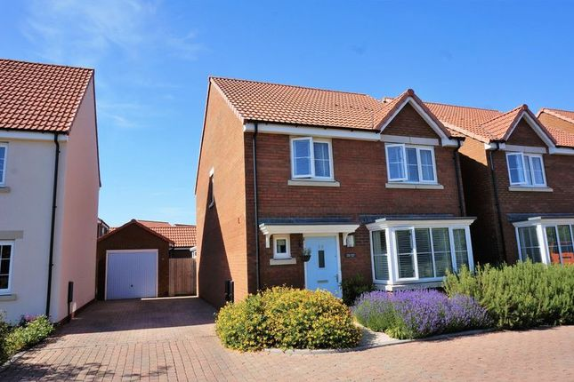 Thumbnail Detached house for sale in Sweeting Close, Creech St. Michael, Taunton