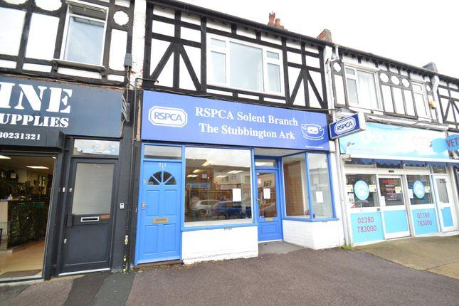 Thumbnail Retail premises to let in 317 Shirley Road, Southampton