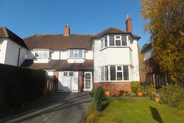 Thumbnail Semi-detached house for sale in Tamworth Road, Sutton Coldfield