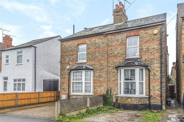 Thumbnail Semi-detached house for sale in Bridge Road, Uxbridge, Middlesex