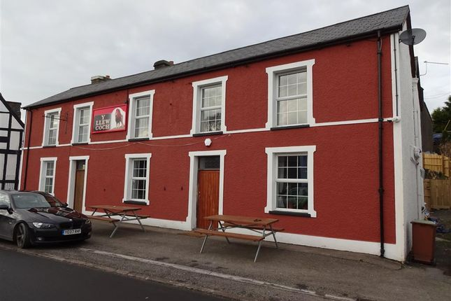 Thumbnail Pub/bar for sale in Tregaron, Dyfed