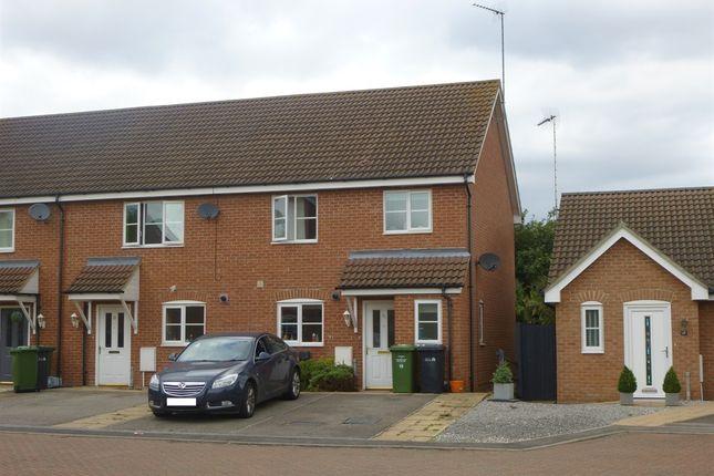 Thumbnail End terrace house for sale in Franklin Way, Watlington, King's Lynn