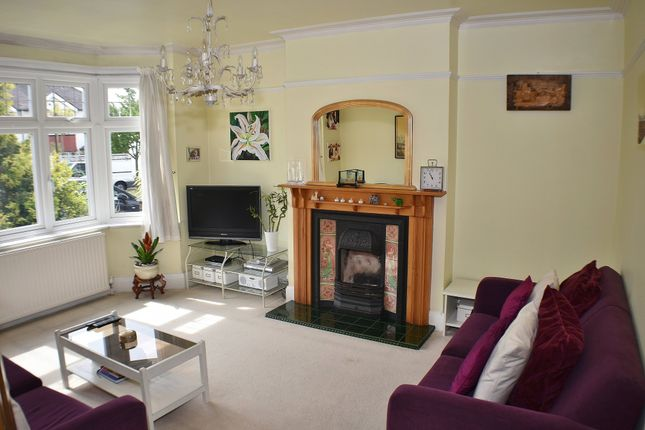 Thumbnail 3 bed semi-detached house for sale in Norbury Close, London