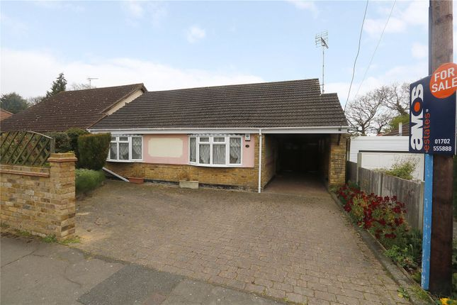 Thumbnail Bungalow for sale in Fairmead Avenue, Hadleigh, Benfleet
