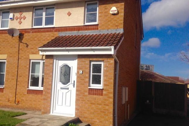 Thumbnail Semi-detached house to rent in Stirling Lane, Hunts Cross, Liverpool