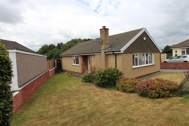 Thumbnail Detached bungalow for sale in Mardy Close, Caerphilly