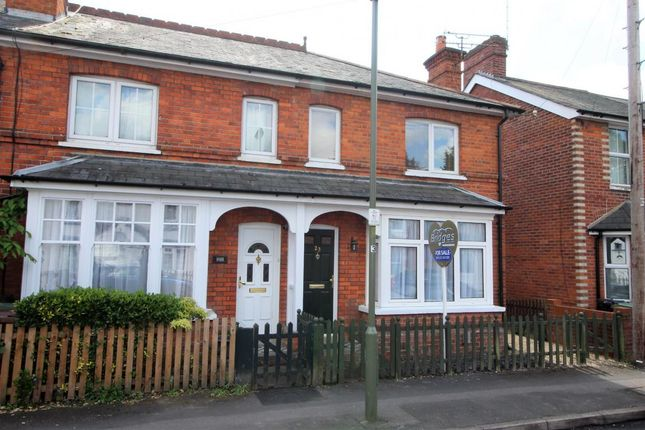 Thumbnail End terrace house for sale in Moorlands Road, Camberley