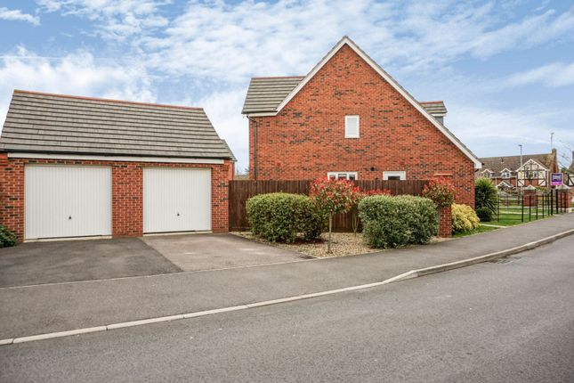 Double Garage of Bosworth Way, Leicester Forest East LE3