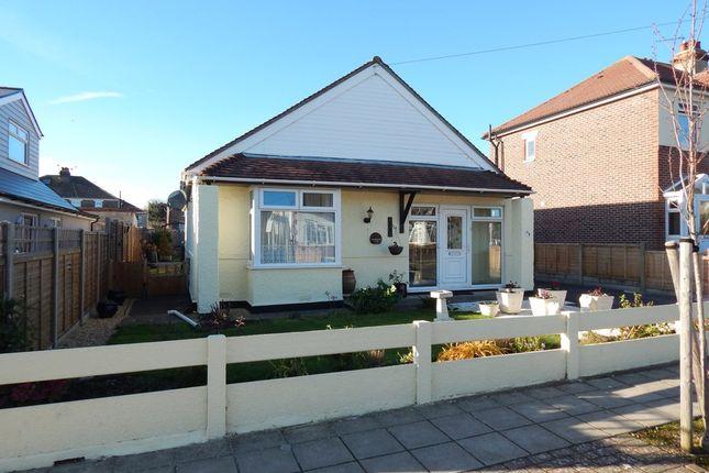 Thumbnail Detached bungalow for sale in Laburnum Avenue, Drayton, Portsmouth