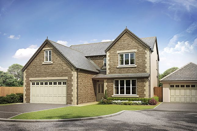 Thumbnail Detached house for sale in Stonecross Meadows, Milnthorpe Road, Kendal, Cumbria