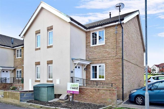 Thumbnail Terraced house for sale in Sarnia Close, Peacehaven, East Sussex
