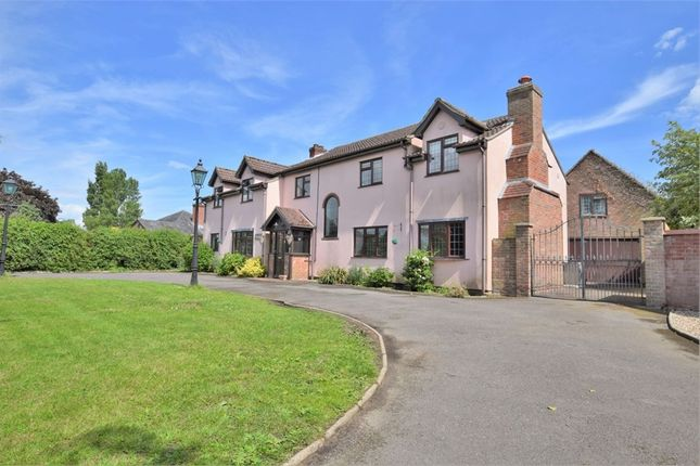 Thumbnail Detached house for sale in Moor Road, Langham, Colchester, Essex