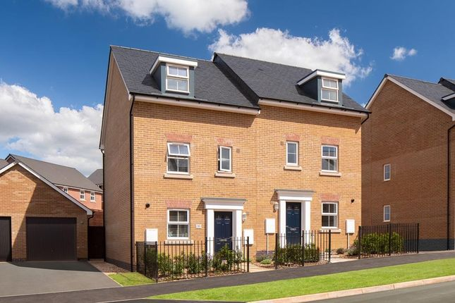"""4 bed semi-detached house for sale in """"Woodcote"""" at Post Hill, Tiverton EX16"""