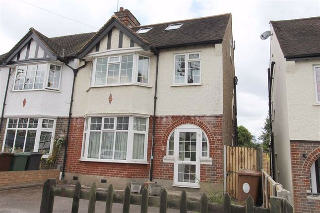 Thumbnail Semi-detached house for sale in Beresford Road, North Chingford, London