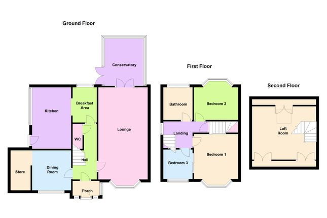 Thumbnail Semi-detached house for sale in Kingstanding Road, Kingstanding, Birmingham.B44