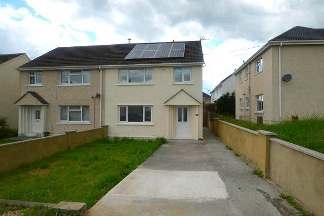 Thumbnail Semi-detached house for sale in Maesyglyn, Glanamman, Ammanford