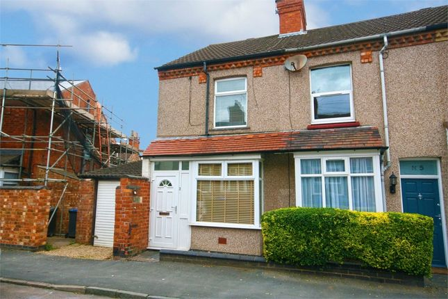 Thumbnail End terrace house to rent in Gladstone Street, Town Centre, Rugby, Warwickshire