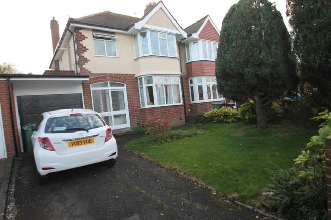 Thumbnail Semi-detached house to rent in Causey Farm Road, Halesowen, West Midlands