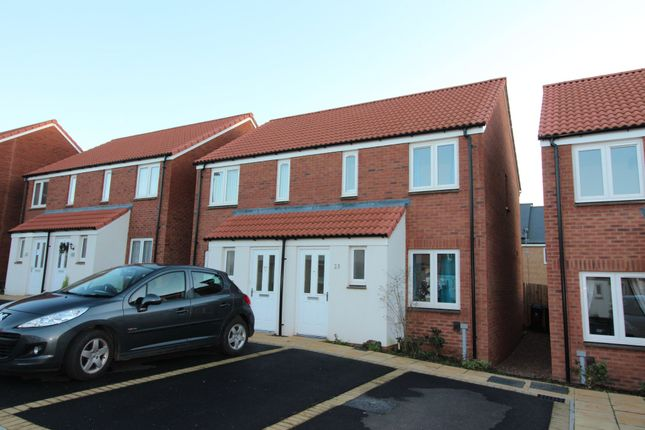 Thumbnail Semi-detached house to rent in Inner Westland, Cranbrook, Exeter