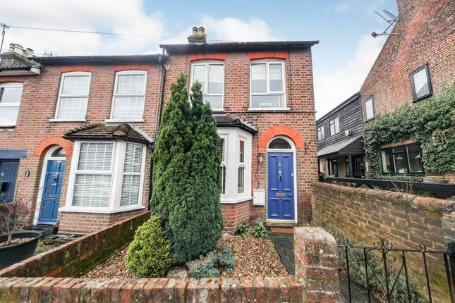 Thumbnail End terrace house for sale in Summer Street, Slip End, Luton
