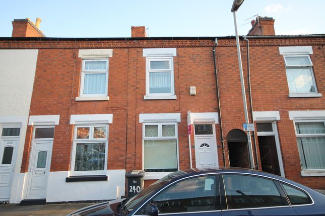 Thumbnail Terraced house for sale in Western Road, Leicester