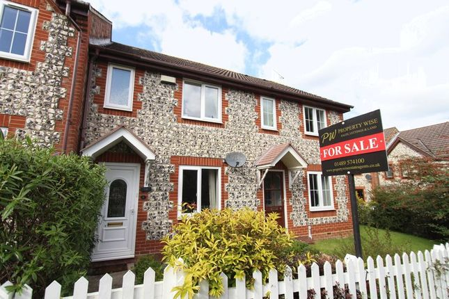 Thumbnail Terraced house for sale in Exmoor Close, Whiteley, Fareham