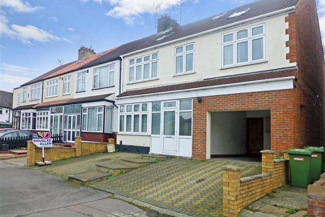 Thumbnail End terrace house for sale in Gaynes Hill Road, Woodford Bridge, Essex