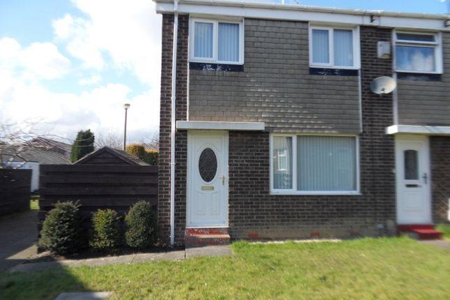 Thumbnail Terraced house for sale in Aln Court, Ellington, Morpeth