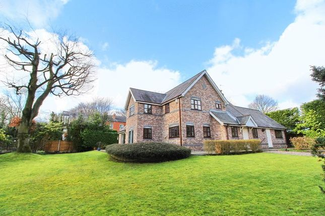 Thumbnail Detached house for sale in Greenleach Lane, Worsley, Manchester