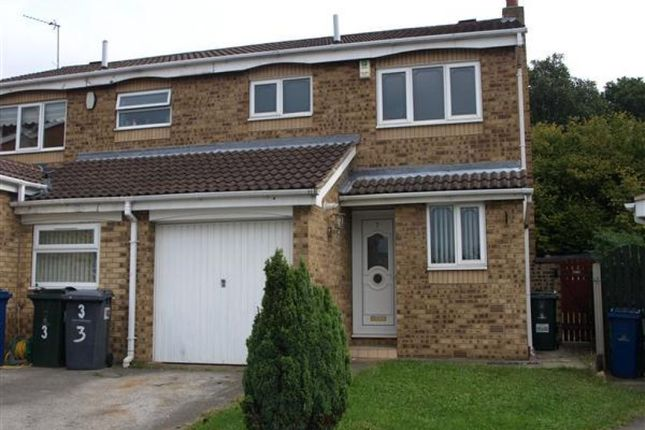 Thumbnail Semi-detached house to rent in 5 Bude Court, Monk Bretton, Barnsley