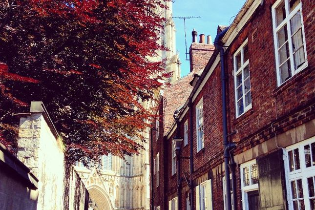 Thumbnail Terraced house to rent in Precentors Court, York