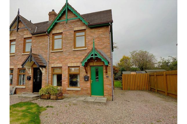Thumbnail End terrace house for sale in Stonebridge Gardens, Conlig, Newtownards