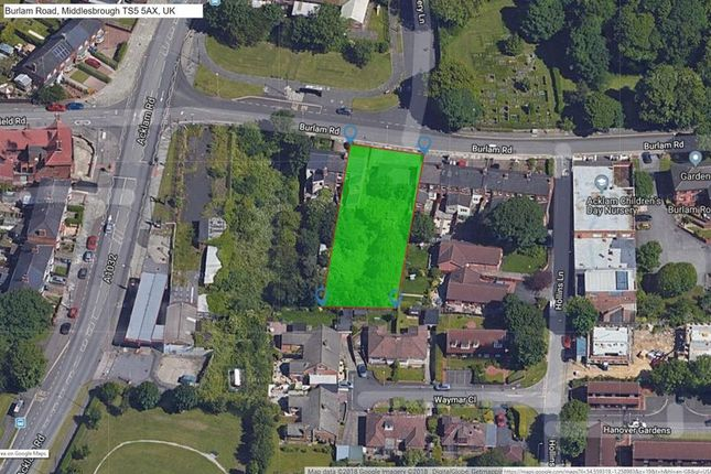 Thumbnail Land for sale in Land & Shops, 143 Burlam Road, Linthorpe