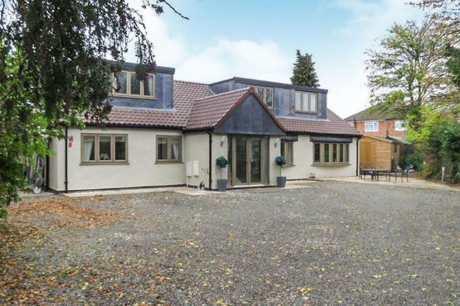 Thumbnail Detached bungalow for sale in Shackerdale Road, Wigston