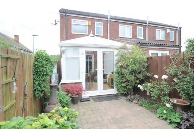 Thumbnail End terrace house for sale in Bainbridge Avenue, East Riding Of Yorkshire