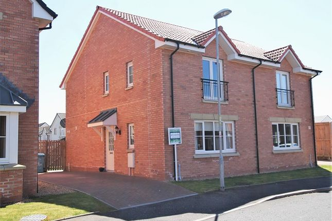 Thumbnail Semi-detached house for sale in Shankly Drive, Newmains, Wishaw