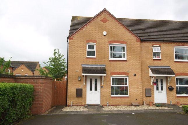 Thumbnail End terrace house for sale in Cowdrey Close, Stourbridge