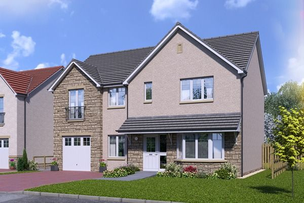Thumbnail Detached house for sale in Plot 54 Galloway, Silver Glen, Alva, Stirling
