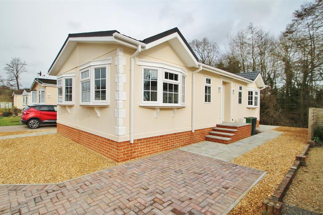 Thumbnail Mobile/park home for sale in Water End Park, Old Basing, Basingstoke