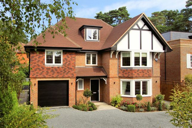 Thumbnail Detached house for sale in Shaftesbury Road, Woking