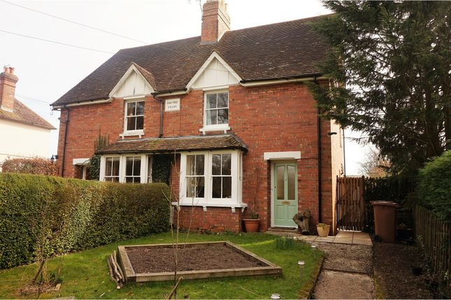 Thumbnail Semi-detached house for sale in Rock Hill Road, Ashford