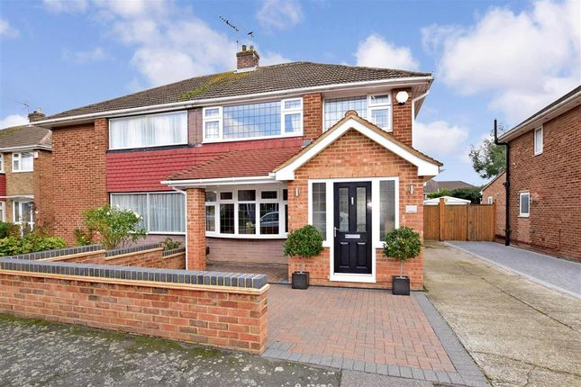 Thumbnail Semi-detached house for sale in Sirdar Strand, Gravesend, Kent